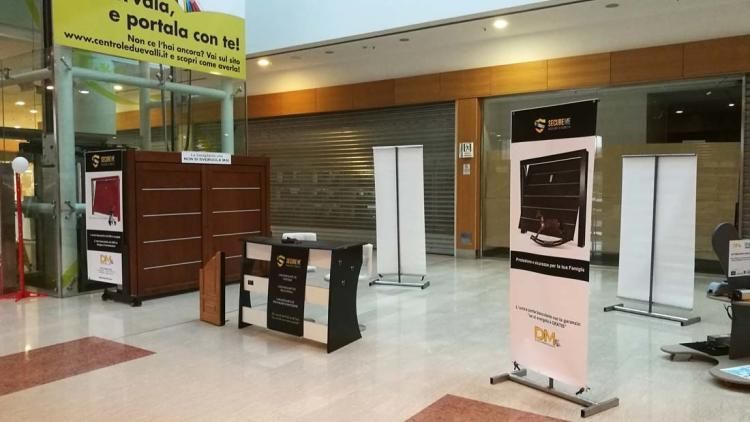 SecureMe, the security up-and-over door in Pinerolo